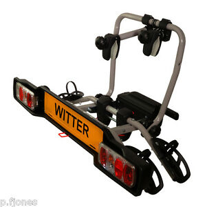 Witter-ZX302-Tow-Bar-Mounted-2-Two-Bike-Cycle-Carrier