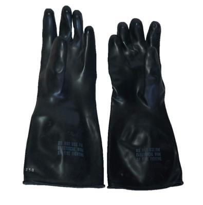 NORTON Chemikalien Schutzhandschuh Säurebeständig Butylkautschuk schwarz M