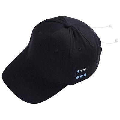Hat Wireless Bluetooth Smart Cap Headset Headphone Speaker Mic Talking Baseball  for sale  Shipping to India