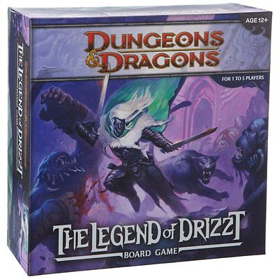 The Legend of Drizzt D&D Board Game NEW Factory Sealed