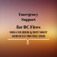 DHS COURIER SERVICES EMERGENCY SUPPORT