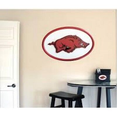 Fan Creations NCAA 00334 Arkansas University of Arkansas 31 inch Logo Wall Art