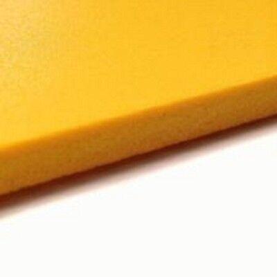 Bright Yellow Sintra Pvc Foam Board Plastic Sheets 6 Mm 12 X 12