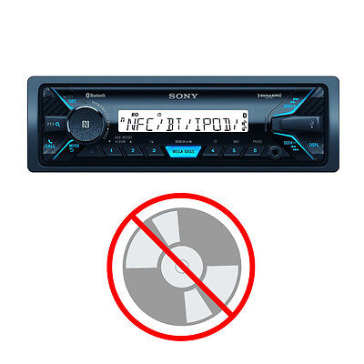 Sony In-Dash Single DIN Marine Media Receiver with Bluetooth and USB | DSXM55BT