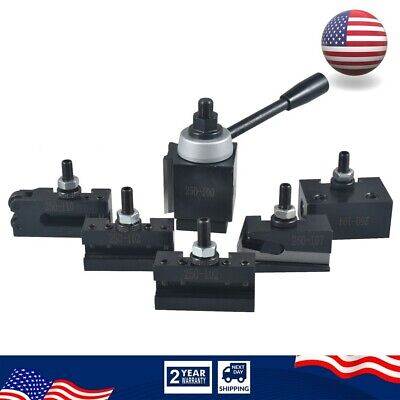 6-12 Axa Size Lathe Quick Change Tool Post And Tool Holder Set For Lathe