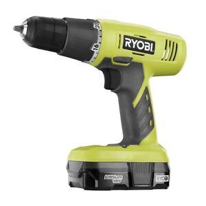 RYOBI One + 18V Lithium-Ion drill