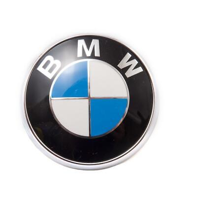 BMW Stick-On Emblem - domed metal car decal - hood - steering wheel - glove box