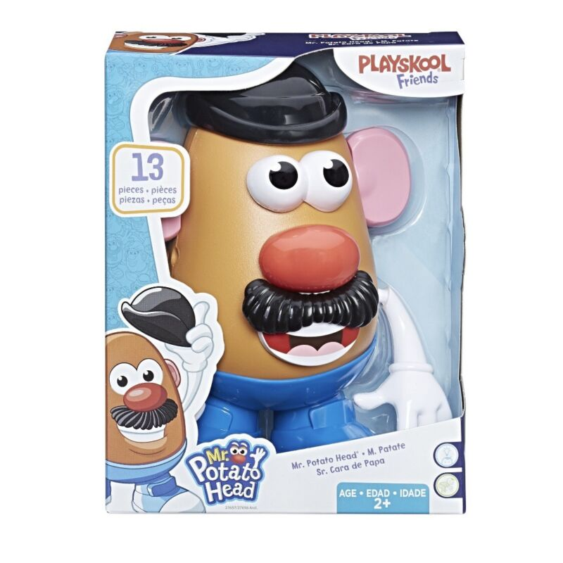 Playskool Friends - MR. Potato Head 13 Pieces NEW IN HAND! *DISCONTINUED TOY*