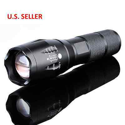TDUSA - 5000Lumen LED 18650/AAA Flashlight Zoomable Torch Focus Flashlight Lamp