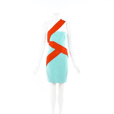 Versace Silk One Shoulder Dress SZ 44
