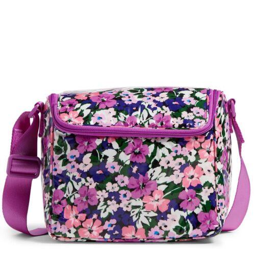 NWT Vera Bradley Womens Lunchbox Stay Cooler Flower Garden P