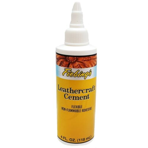 Leathercraft Cement Flexible Adhesive For Leather And Crafts - Leather Glue