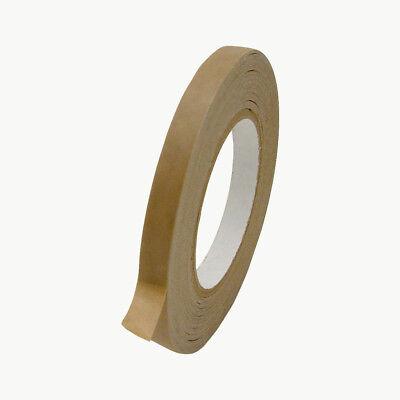 Jvcc Fppt-01 Kraft Flatback Paper Packaging Tape 12 In. X 60 Yds. Brown