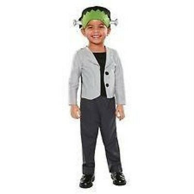 NEW INFANT TODDLER Boy LITTLE FRANKENSTEIN MONSTER HALLOWEEN COSTUME 12M - 24M