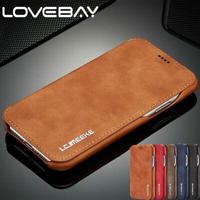 Luxus Flip Stand Leder Case Für iPhone X 8 7 6s+ Handy Hülle Tasche Cover Wallet Leder Flip Case
