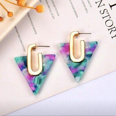 Acrylic Inverted Triangle Geo -