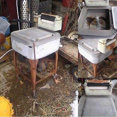 Antique MAYTAG Wringer Washing Machine. Vintage Clothes Washer. Electric. 92 72