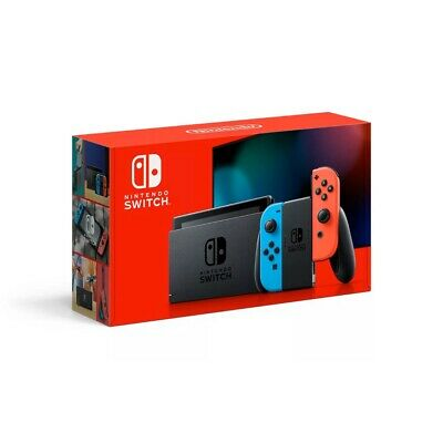 Nintendo Switch 32GB Console w/ Neon Blue & Neon Red Joy Con *Fast Shipping*
