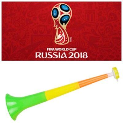 Vuvuzela Russia World Cup Stadium Horn Cheer Fan Plastic Style Collapsible     - Vuvuzela Horn