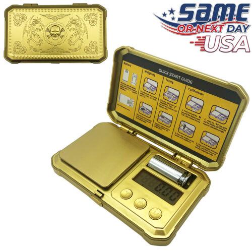 GOLD Fuzion Digital Pocket Scale 200g x 0.01g Jewelry Gold Gram Karat Weight