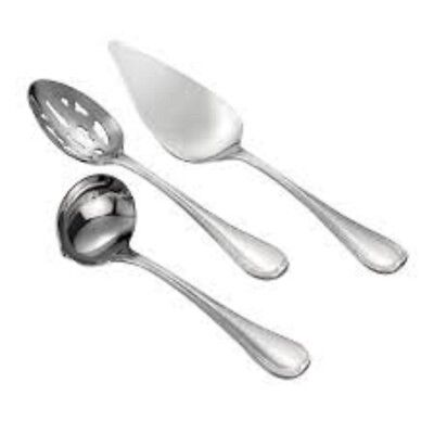 Waterford Monique Lhuillier Waterford® Etoile 3-Piece Hostess Set New in Box 3 Piece Hostess Set Flatware