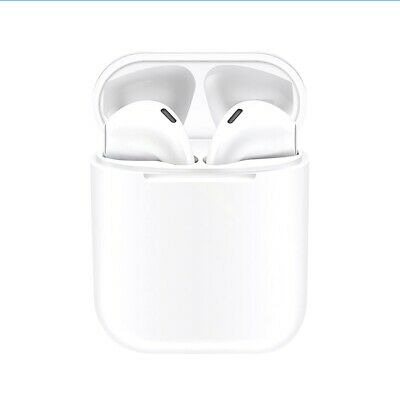 Wireless Bluetooth AirBuds Earphones Earplugs  Earbuds Ear Pods for iPhone Apple