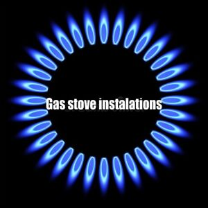 Gasline installations available for stoves