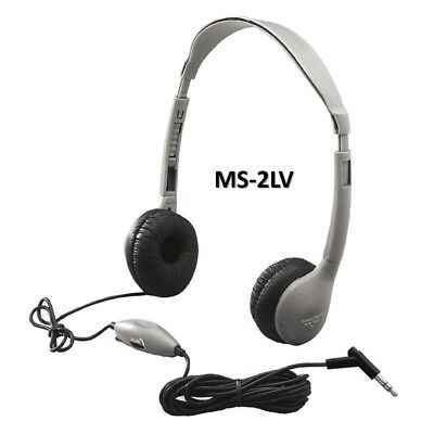 NEW HAMILTON - BUHL - MPC  STEREO HEADPHONE - MODEL: MS-2LV  W/ VOL (Hamilton Stereo Headphone)