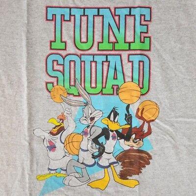 Looney Tunes Men's Large Tank Top T-Shirt Licensed Disney Squad Space Jam Movie