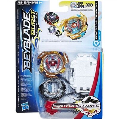 Hasbro Beyblade Burst Evolution Switch Strike Genesis Valtryek V3 God Valkyrie