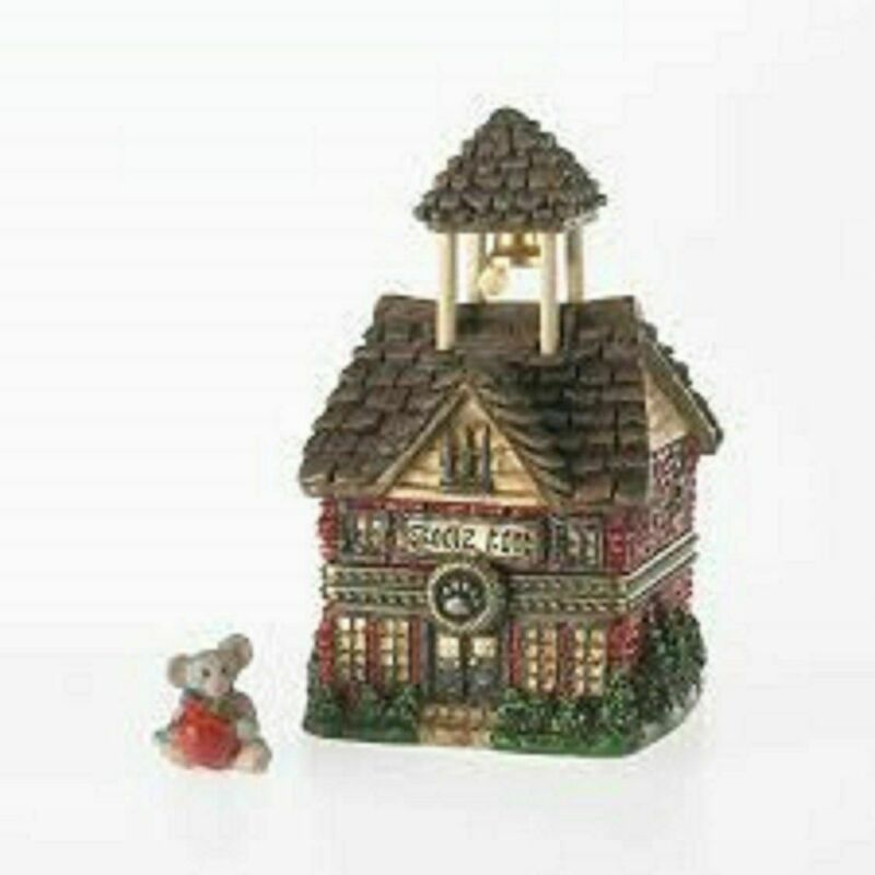 BOYDS TREASURE BOX COLLECTION - HINGED BOX - BOYDS LITTLE RED SCHOOLHOUSE