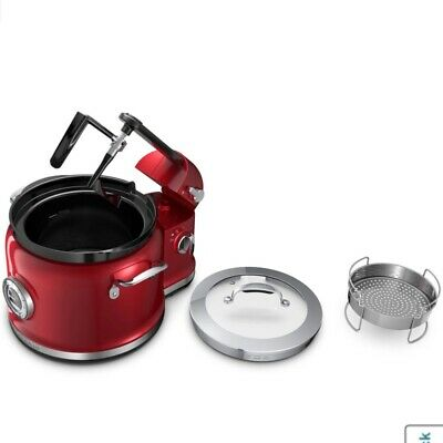 KitchenAid Multi-Cooker KMC4244CA Stir Tower - Candy Apple Red. Brand new