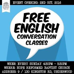 Free English Conversation Class Underwood Logan Area Preview