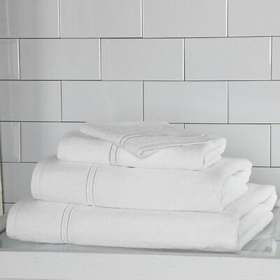 Frette B & B Notable Bath Lamina Deathly white - Set of 2