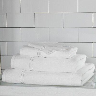 Frette Hotel Classic Bath Sheet White - Set of 2