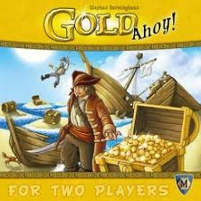 Mayfair Games Gold Ahoy! FACTORY SEALED NEW