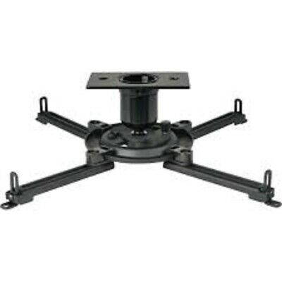 PJF2 Multimedia Projector Mount with Spider Universal Adapter Plate  - black Spider Universal Projector Mount