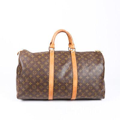 Vintage Louis Vuitton Keepall 50 Monogram Travel Bag