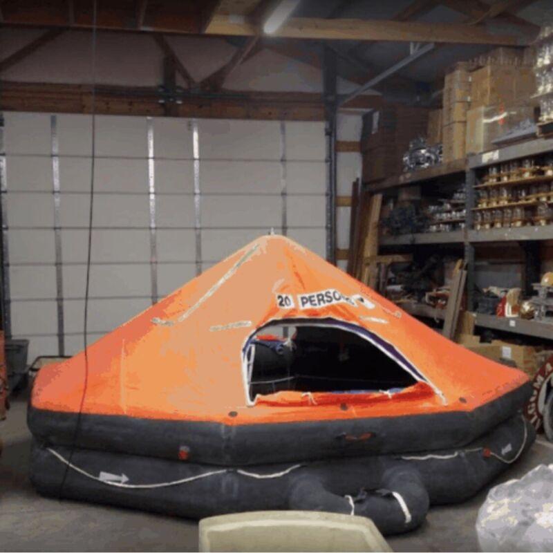 Vintage Viking Life Boat