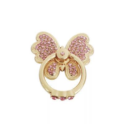 Universal 360 Rotating Finger Ring Stand Holder Bling For Cell Phone Butterfly  Butterfly Ring Holder