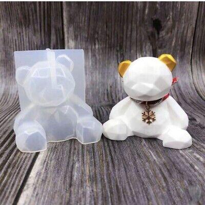 Teddy Bear Silicone Resin Mold Epoxy Resin Mold manual DIY craft tool supplies - Diy Teddy Bear