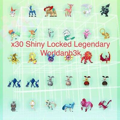 Pokemon Sword & Shield & Home | Shiny Zacian,Zamazenta,Victini,etc | *Read Desc*