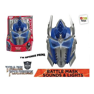 Transformers Maske Optimus Prime mit Licht & Sound Kostüm - NEU/OVP
