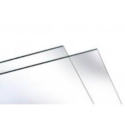 Spuckschutz transparent mit Folie 200mm x 320mm x 0,5mm zum Selbstbau