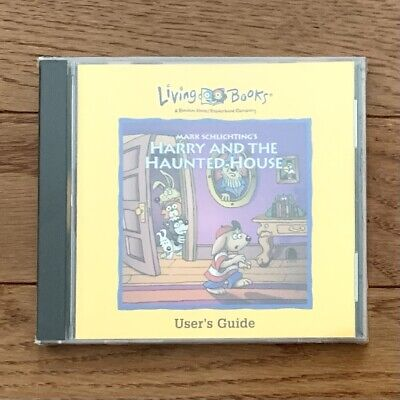 Harry and the Haunted House (Living books)  PC CD-ROM in Original Sealed Case