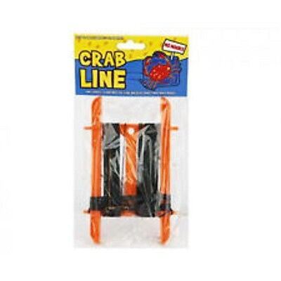 12XBN=SEALED=13 METRE=CRAB LINE=NO HOOKS=WEIGHT=2 BAIT BAGS=CRABBING=HOLIDAY FUN