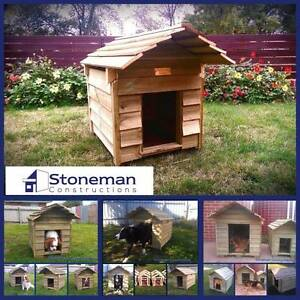 New Wooden Kennels. On display at Whiteheads Timber, Ballarat Ballarat Central Ballarat City Preview