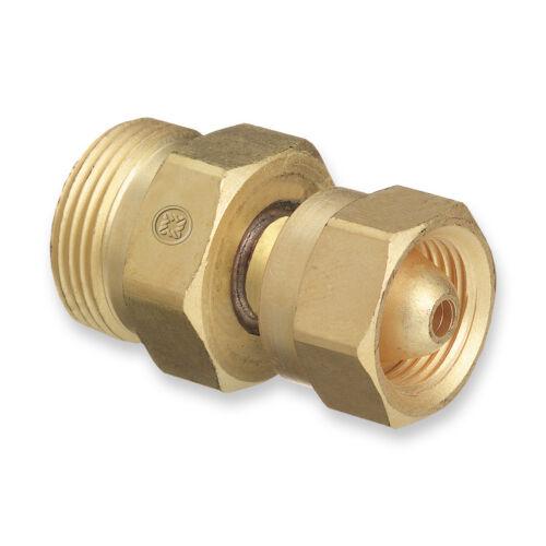 Western CGA-200 MC Acetylene Cylinder/Tank to CGA-520 B Regulator, Adaptor # 314