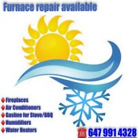Furnace repair and installation available