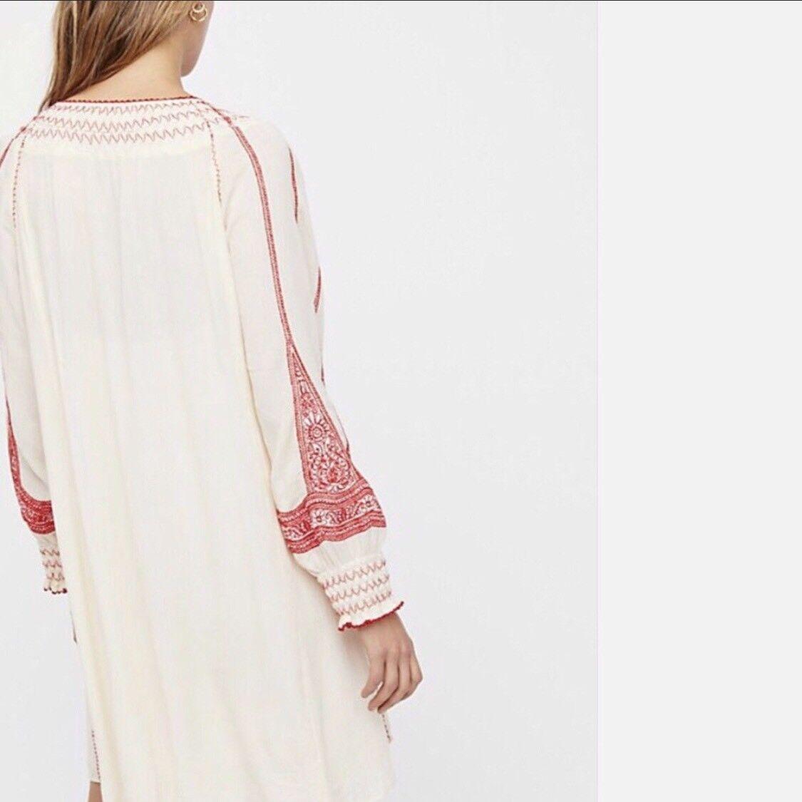 NWT Free People Wind Willow Mini dress Retail $148